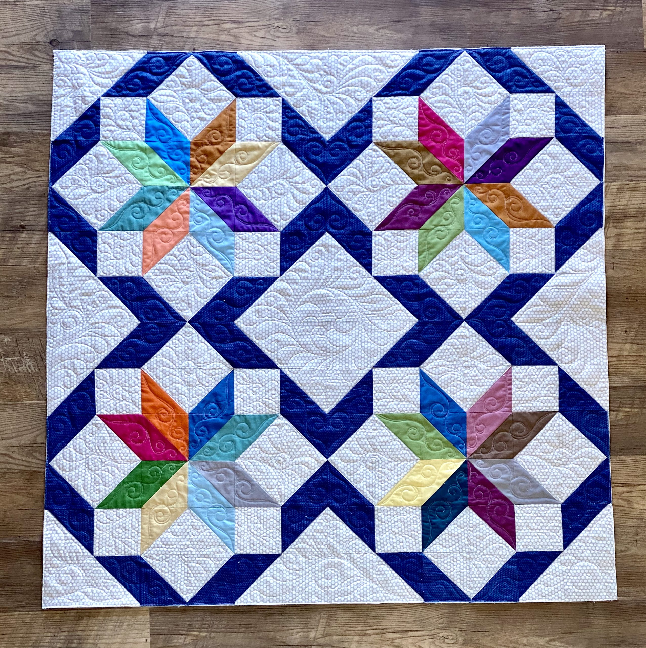 Includes Instructions for Three Project Sizes Market Square Joy of Sets #1 Cozy Quilt Designs Cutting Corners Series Pattern